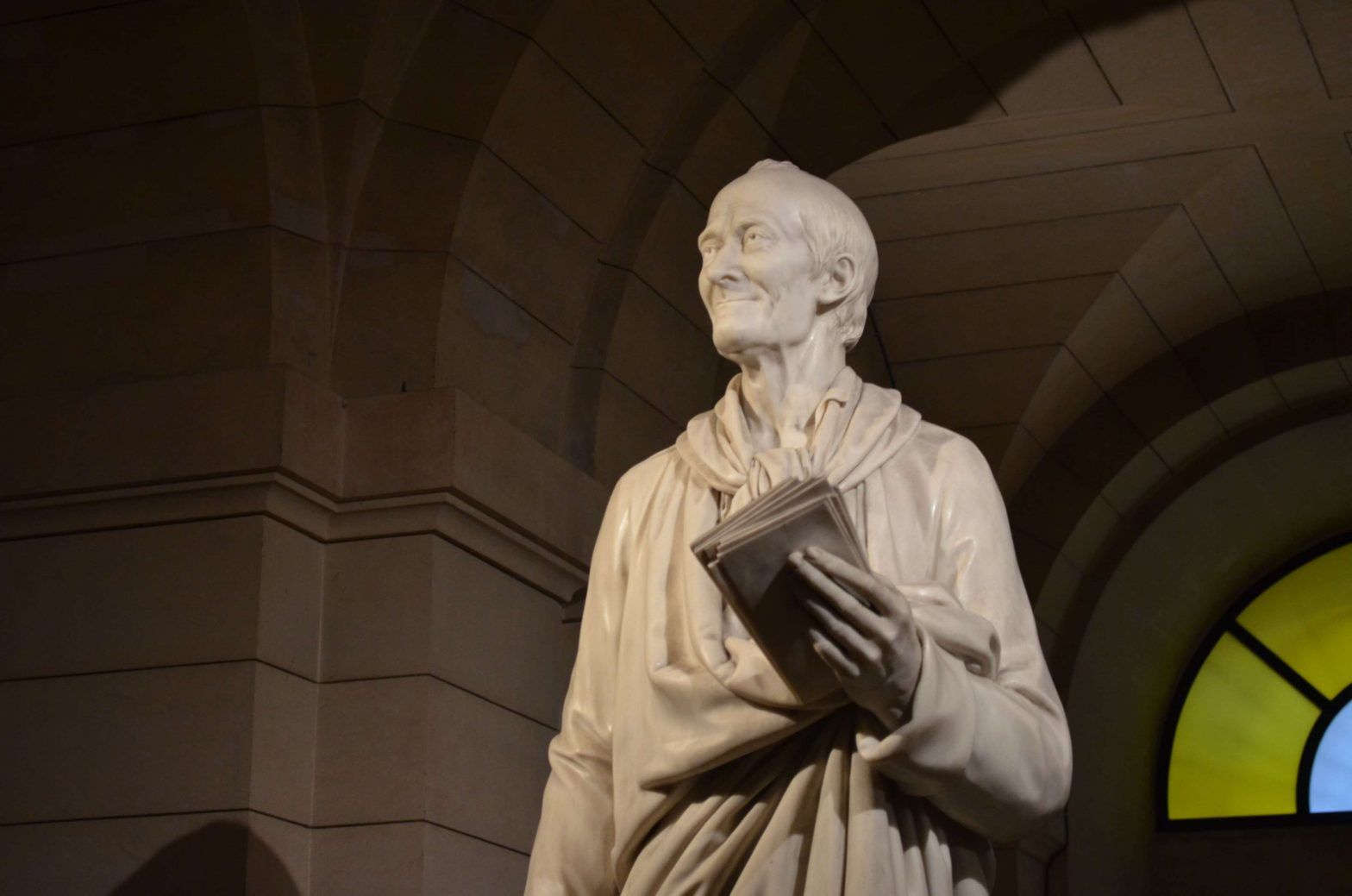 Statue of French Philosopher Voltaire